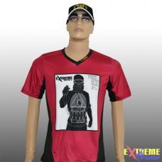 Tričko design Antiteroristka RED
